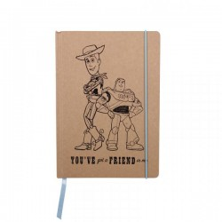 DISNEY  NOTEBOOK A5  TOY STORY
