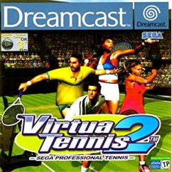 Virtua Tennis 2 SEGA DREAMCAST